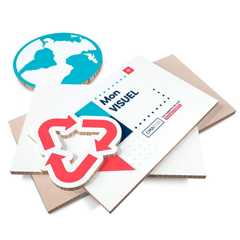 Impression carton rigide